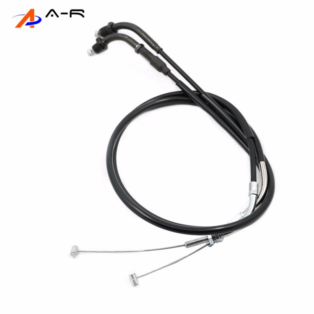Moto Dual Throttle return Cables Rope Brake Oil Control