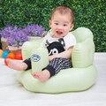 Baño de asiento de Silla de Comedor de Bebé Sofá Inflable cochecito de bebé silla sofá silla de asiento portable Del Bebé Estera del juego del Juego Los Niños Aprenden heces