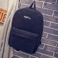 День и ночь Рюкзаки Bagpack Мужчины Женщины Мешок Школы Для Подростков Девочка Мальчик Любителей Студент Книги Мешок Mochila рюкзак