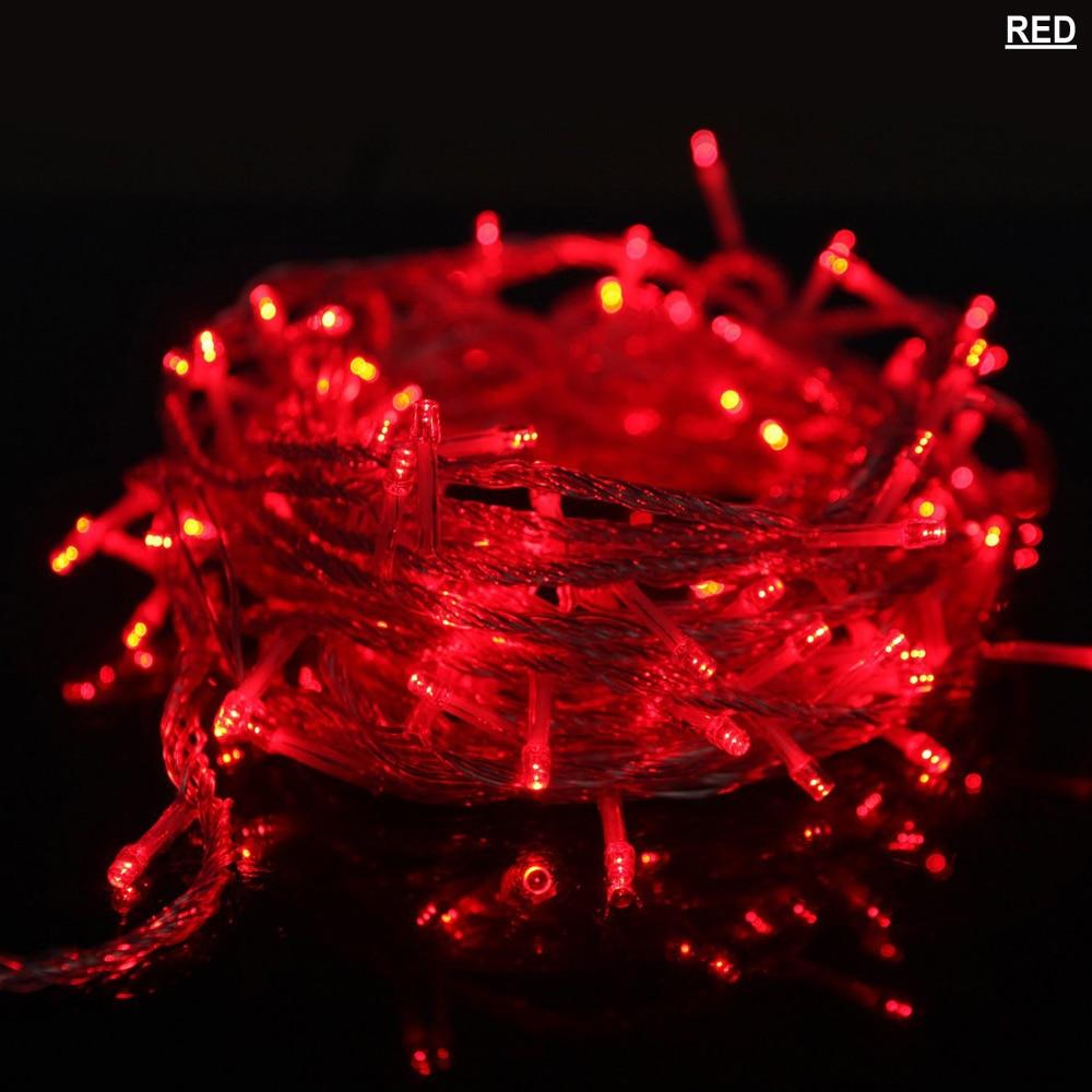 Luz Conduzida da Corda m 50 m fada luz Distância de Iluminação : 6-10m