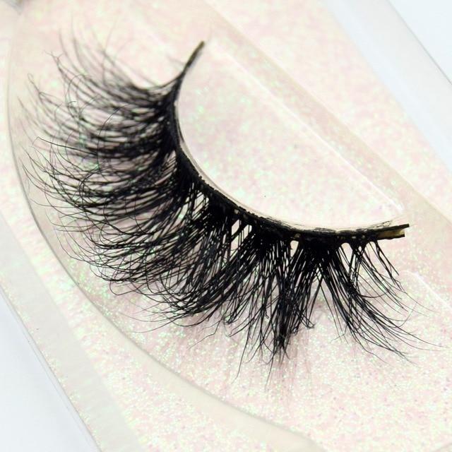Visofree Mink Eyelashes 100% Cruelty free Handmade 3D Mink Lashes Full Strip Lashes Soft False Eyelashes Makeup  Lashes E11 3