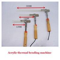 1PC Acrylic Bender Channel Letter hot bending machine Arc/Angle Shape Bender 300mm heating tube bender 220V