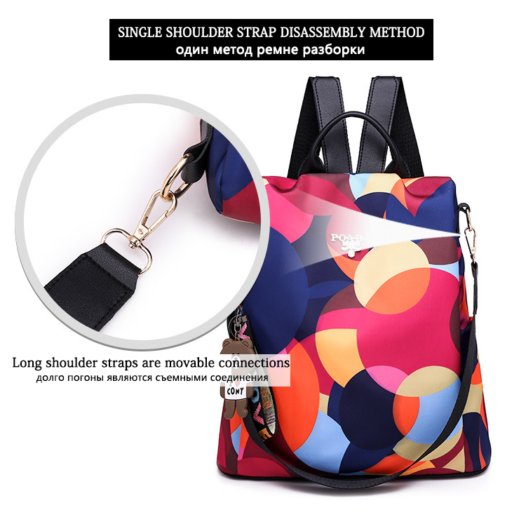 HTB1jLDWe8OD3KVjSZFFq6An9pXaS Fashion backpack women shoulder bag large capacity women backpack school bag for teenage girls light ladies travel backpack