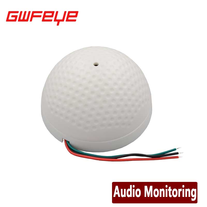 GWFEYE Mini AUDIO CCTV Microphone MIC For Security DVR Cameras Audio Monitor Sound pickup Head Low