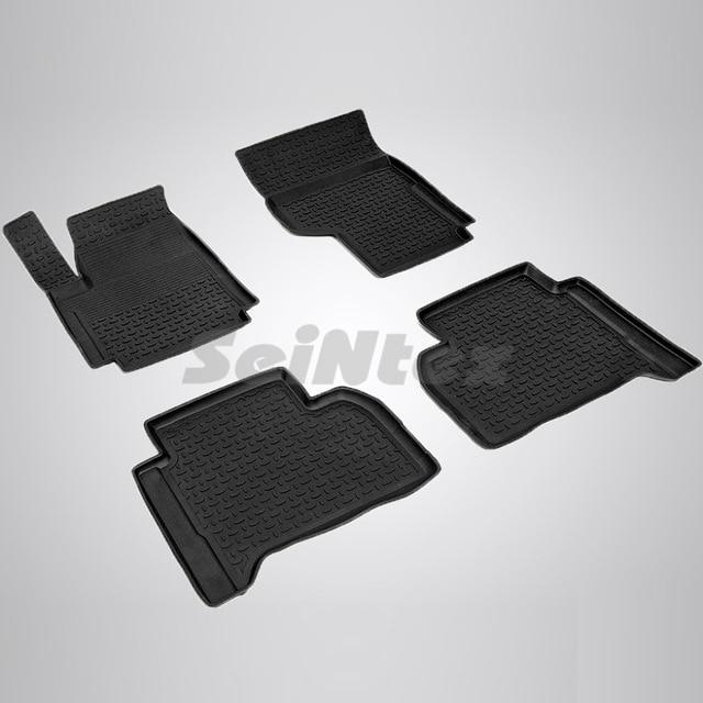 Резиновые коврики для Volkswagen Amarok (2010-2018) Seintex 83775