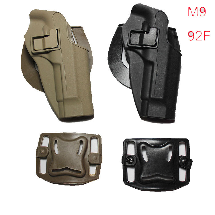Recommend Blackhawk CQC Military Tactical Concealment Belt Gun Holster Hunting Accessories Airsoft Gun Holster for M9 M92 96