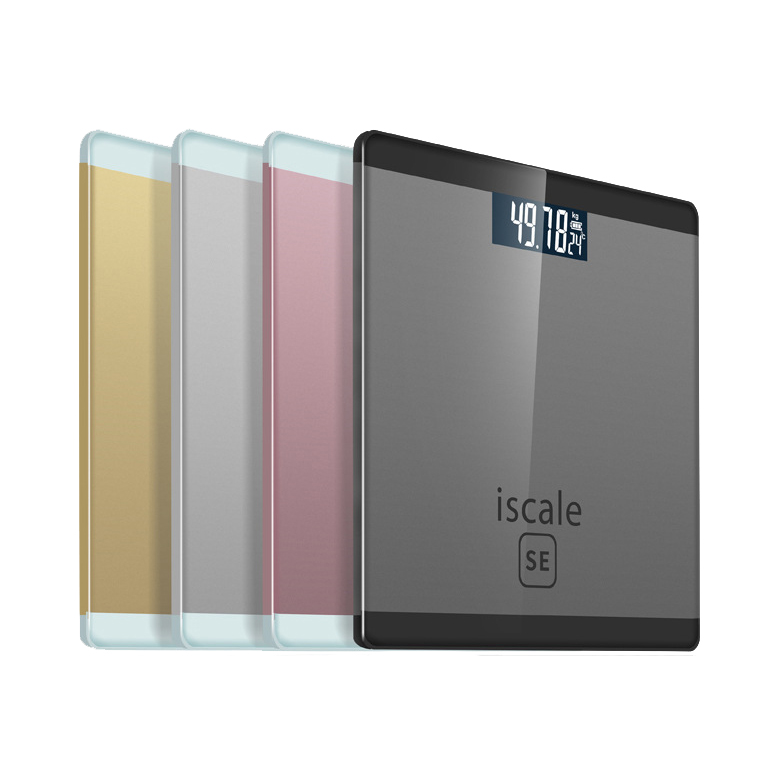 180kg Ultra-thin Smart USB Charging Bathroom Weight Scale Household Body Fat Scale LCD Backlight Digital Display Scale