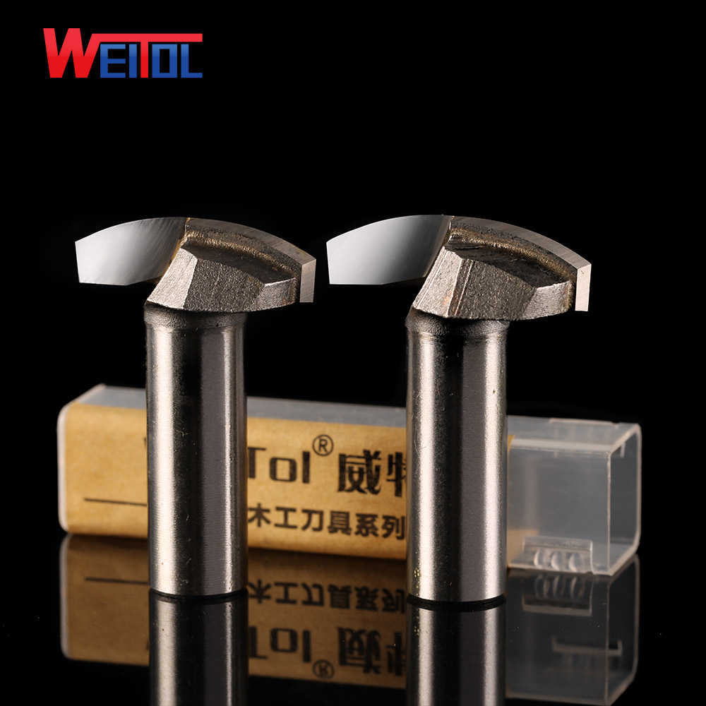 Weitol 1 pcs 1/2 inch Woodworking Cutter Router Bits for thin Round bottom bit for Various wood cabinet door router bit 1pc cleaning bottom router bit cutter cnc woodworking clean bits 1 2 shank dia