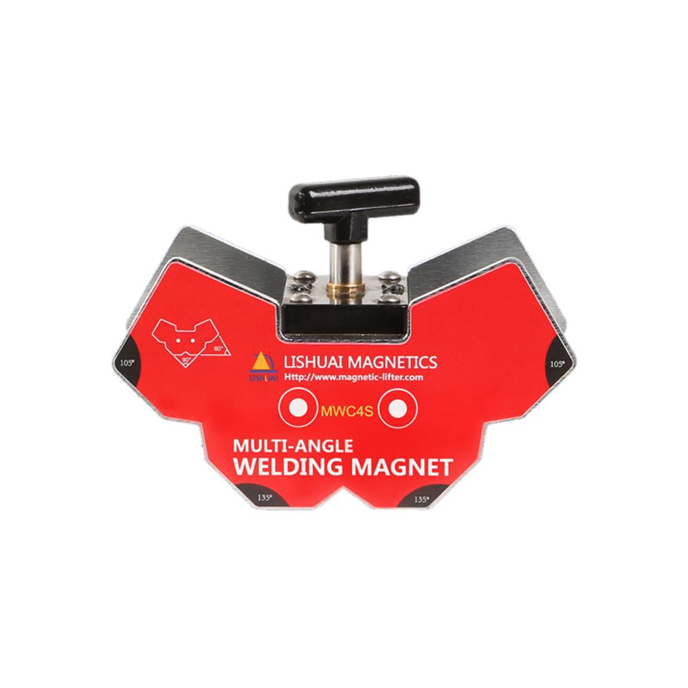 Switchable Multi-angle Welding Angle Magnets/Strong Neodymium Magnet Welding Holder For Angle Tools MWC4M lishuai multi angle switchable magnetic holder strong power ndfeb welding magnets clamp