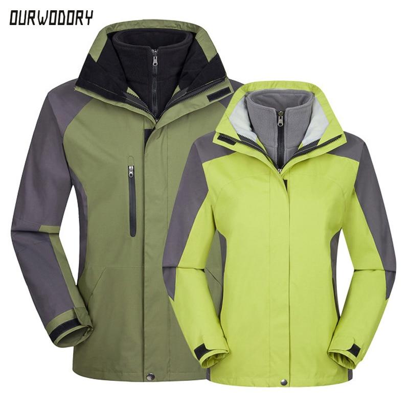 Men's Clothing jacket autumn winter outdoor Camping hiking coats men women Hooded Thermal Windbreaker male warm parkas jackets цена 2017