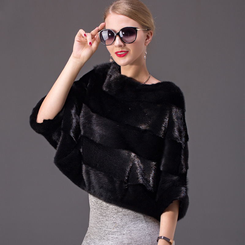 Bat Manches Escompte Femmes Fourrure 100 Vison Véritable Court noir Noir Pelt Pleine Rayé De Énorme Femme gris Vestes Manteau Manteaux Mode Réel Rouge O8r7Owqv