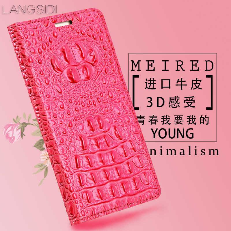 Portefeuille à rabat en cuir véritable en gros pour Xiao mi 9 9se étui pas cher Crocodile texture arrière étui pour mi 8 Lite coque de téléphone à la main