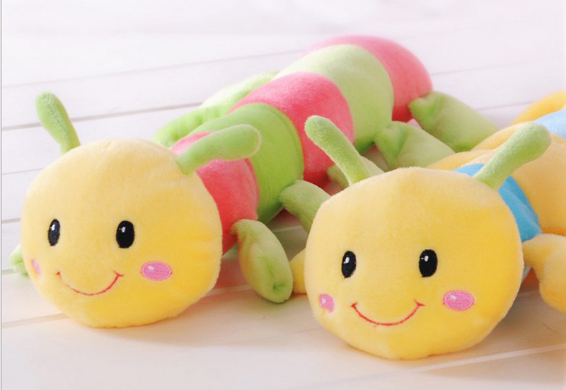 2003 baby toy 18cm Plush & colorful &  lovely caterpillars doll wholesale sale supplies creative gifts 1pcs 20pcs 3 poles jack 3 5 rca connector 3 5mm jack rca audio connector rca audio plug 3 5 jack stereo headset dual track headphone