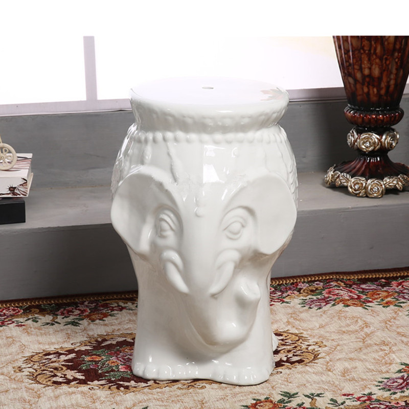 Elephant Drum Stool Ceramic Round Stool Living Room Hotel Mall Commercial Animal Leisure Chair Stool Wedding Gift L3380Elephant Drum Stool Ceramic Round Stool Living Room Hotel Mall Commercial Animal Leisure Chair Stool Wedding Gift L3380