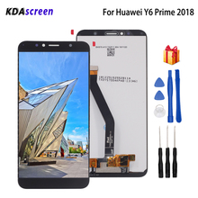 Original For Huawei Y6 Prime 2018 LCD Display Touch Screen For Huawei Y6 Prime 2018 ATU-L11 L21 L22 LX3 Screen LCD With Frame 100% original new ltm170e8 l31 original new full view screen ltm170eu l21 l11