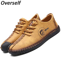 2017 Business Men Shoes Nubuck Leather Shoes Men Round Toe Leather Lace Fashion High Quality Flats