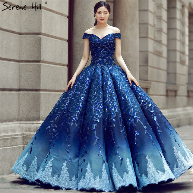 Most Beautiful Ball Gown Wedding Dresses: 2019 Off Shoulder Sexy Fashion Wedding Dress Handmade