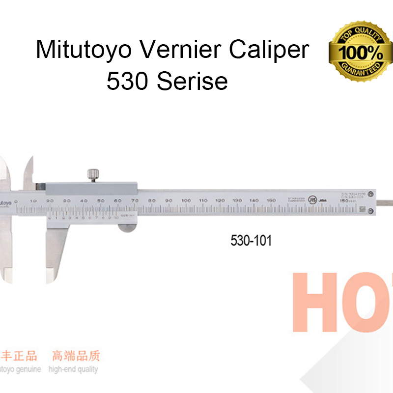 Фотография 530 vernier caliper made for japan good quality and world famous brand 0-150mm with 0.03mm accuracy