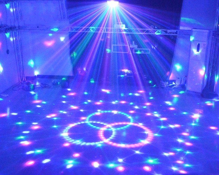 Automatic Control R&G Laser Light Lighting Projector Stage DJ Disco Xmas Party Show Star Club Bar