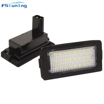 FSTUNING OEM 12v 8W led license plate light for BMW E38 car plate light number plate lamp tail number lamp for bmw e38 LED bulb image