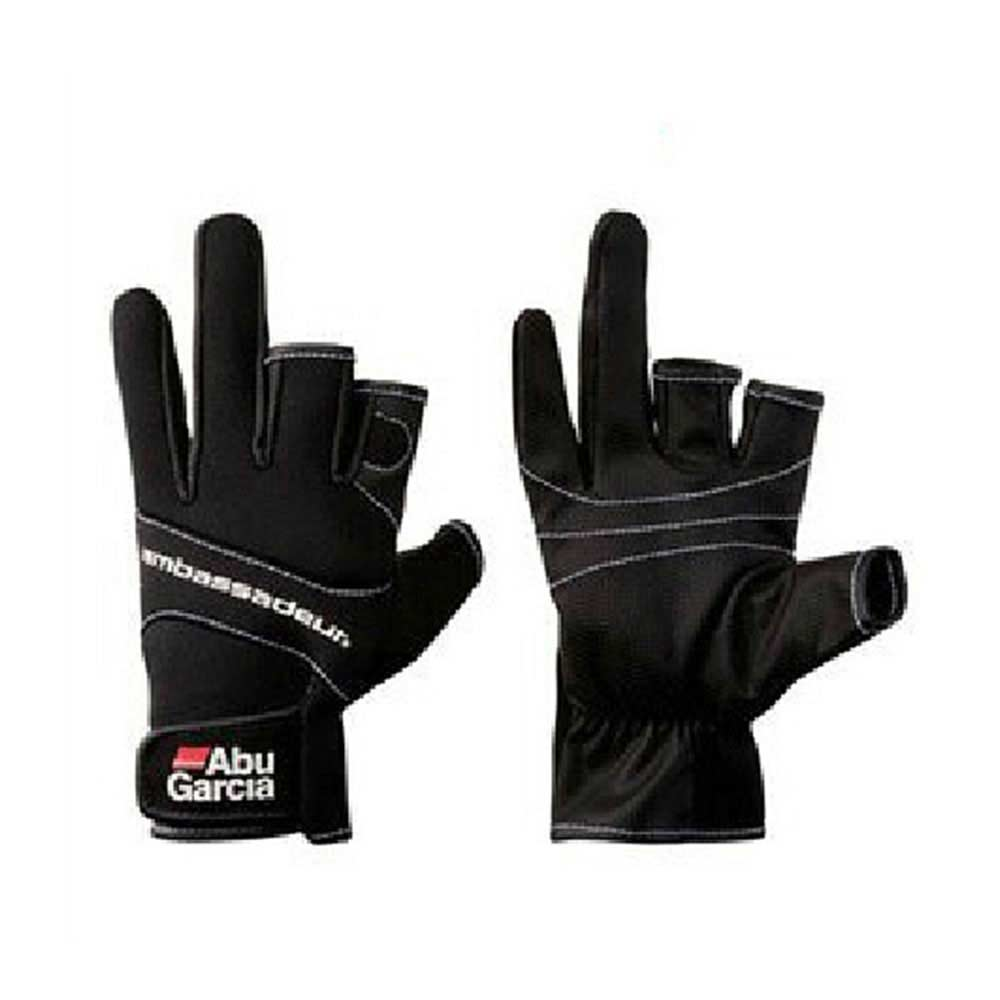 Gants pour la pêche trois figner de Haute Qualité Aub Garcia tissus Confort Anti-Slip Gants De Pêche pêche Sportive gant