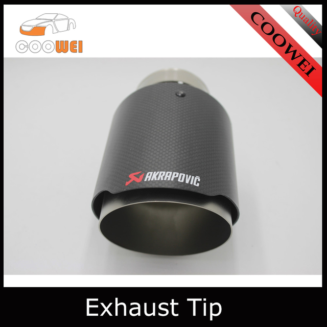 Motorsport M Performance Carbon Akrapovic Car Exhaust Tip For Bmw