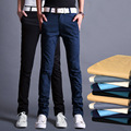 New Arrival 2017 Fashion Men Straight Skinny Chinos Cargo Pants Mens Casual Slim Trousers Clothing Big Size 28-34 13M0552