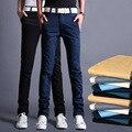 Nueva Llegada 2017 Hombres de La Manera Recta Flacos Chinos Cargo Pantalones Casuales Para Hombre Pantalones Delgados Ropa Grande del Tamaño 28-34 13M0552