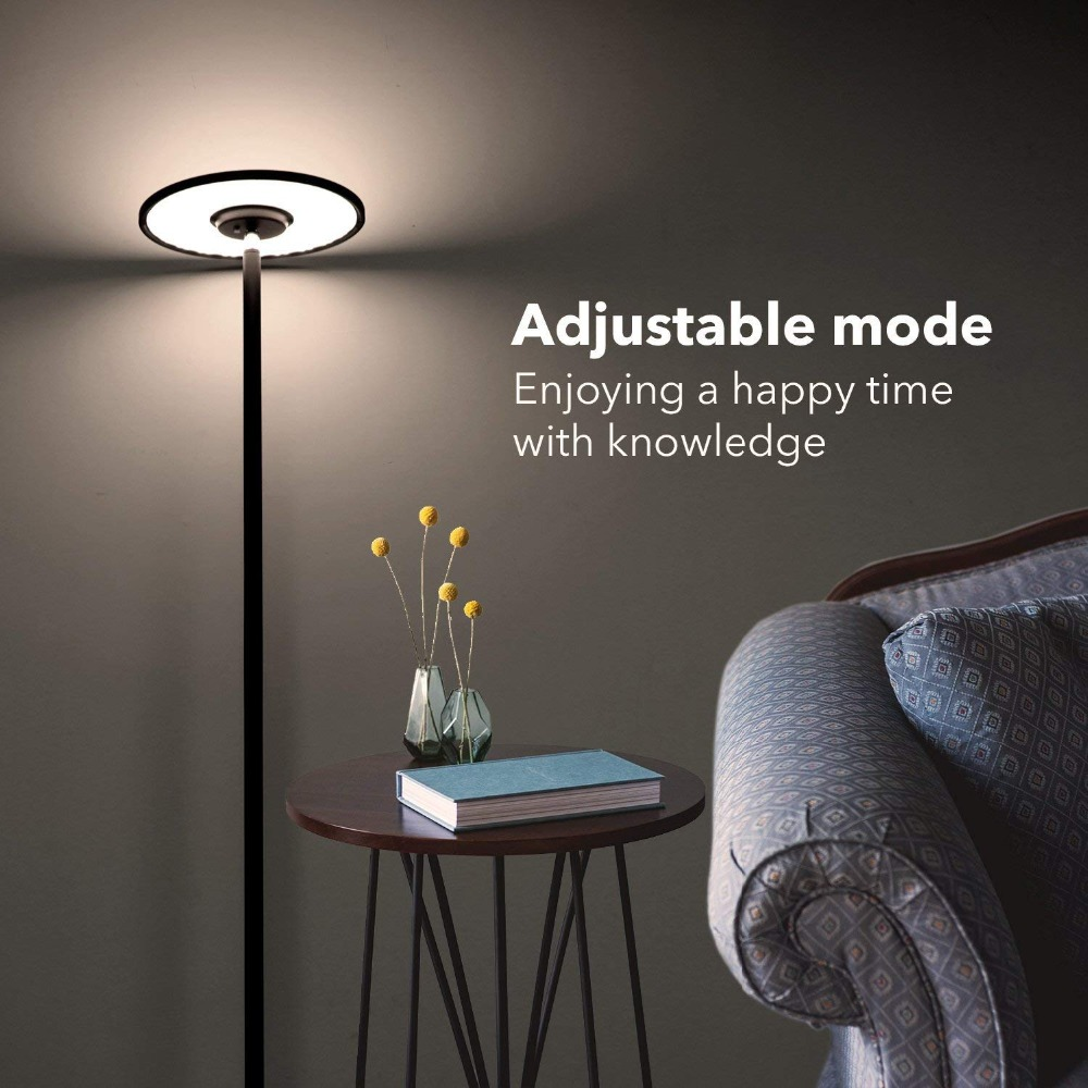 19W Dimmable LED Floor Lamp Lights Modern Led Floor Lamps for