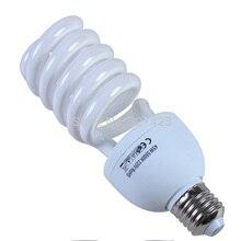 Lámpara fotográfica de 220V y 45W para estudio fotográfico, soporte para lámpara E27, iluminación de 5500K para cámara de teléfono y fotos