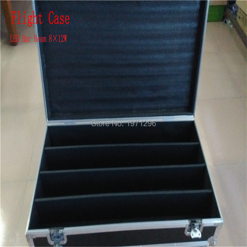 Free&Fast Shipping High Quality Flight Case/Flight Package Perfect For LED Bar 8x12W RGBW can put 4piece LED Bar