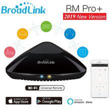 Broadlink RM Pro + умный дом умная Автоматизация Универсальный Wi Fi ИК RF беспроводной удаленного Совместимость Alexa и Google дома мини