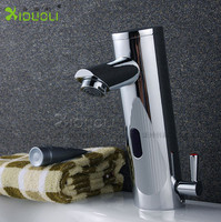 Hot and cold water basin on the latest deals intelligent automatic infrared sensor faucet copper XDL1514