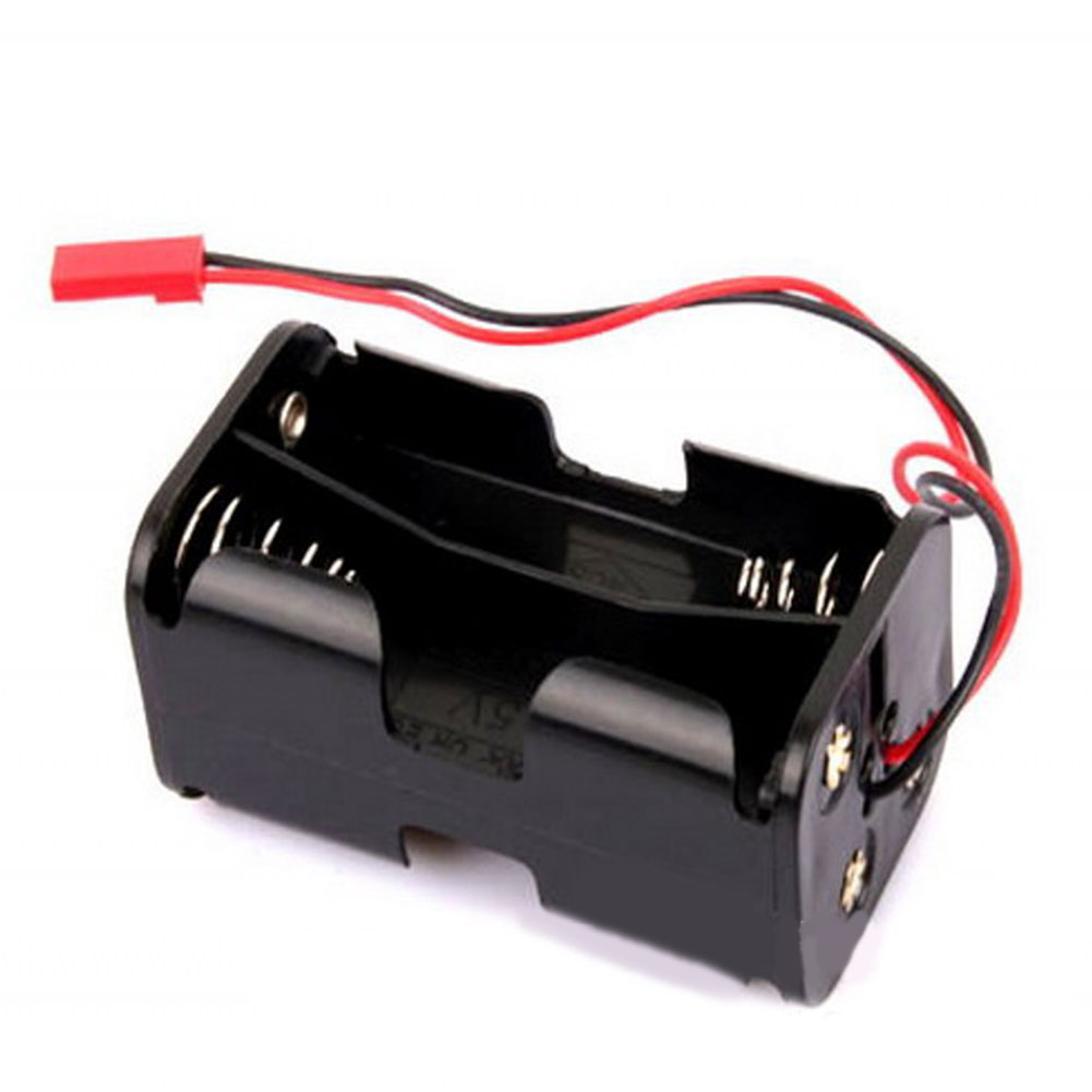 NEW HOT SALES Receiver Battery Case Box 4 X AA Battery Insert Compartment For 1/8 1/10 RC Model HSP