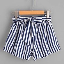 Womail Women Short Summer Stripe Loose Hot Lady Summer Short