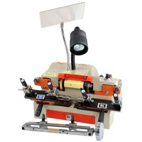 100E1 Double head Automatic Key Cutting Machine Locksmithing Tools House Car Duplicate Key Cutting Duplicator 180w 220v/50hz