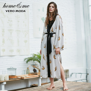 Image 2 - Vero Moda damski nadruk zwierzęta luźny krój szlafrok