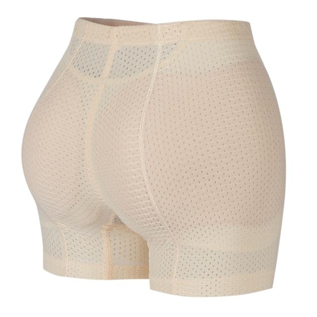 Booty Hip Enhancer Invisibla Lift Butt Lifter Shaper Padding Panty Push Up Bottom Boyshorts Sexy Shapewear Panties Hip Padded 3