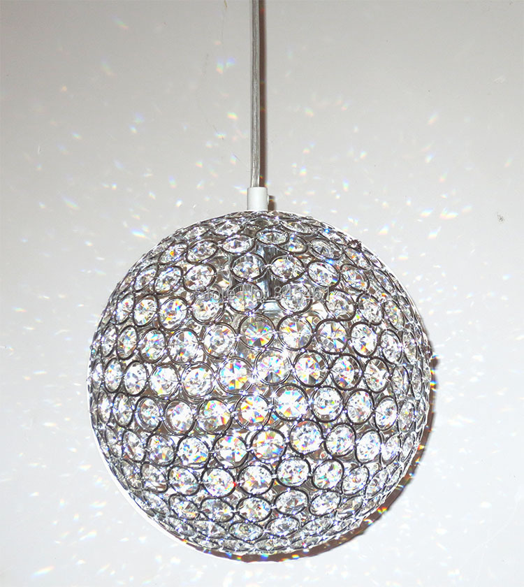 Modern Lighting Crystal Pendant Lights Minimalist Living Room Bedroom Dining Hallway K9 Ball Lamp In From