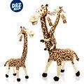 Caliente Venta Del Envío Libre Rápido 35-250 CM de Largo Cuello de la Jirafa de Peluche de Juguete de Felpa Madagascar 3 Fábrica Precio de Peluche juguetes ciervos