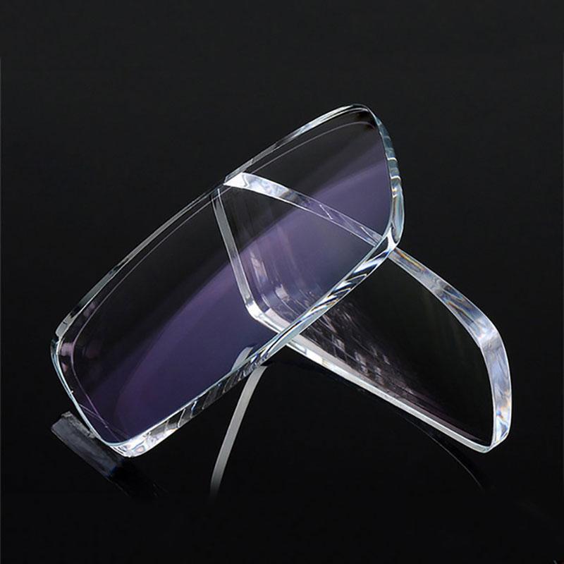 Nouveau 1.74 lentilles à Vision unique pour hommes et femmes lentille à Vision unique optique claire HMC, EMI asphérique Anti UV - 3