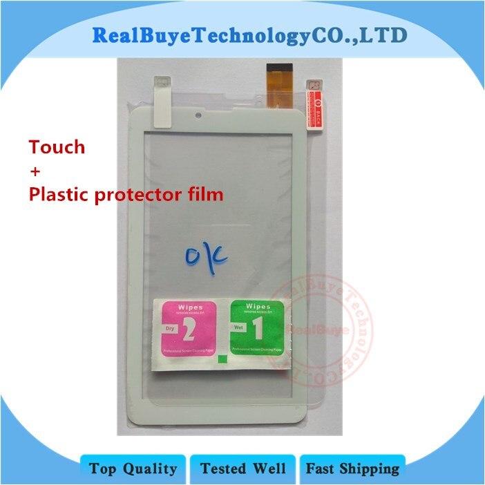 A + 7 zoll Touch screen für PRESTIGIO MULTIPAD WIZE 3067 3G PMT3067 tablet pc Touch panel digitizer glas/kunststoff protector film
