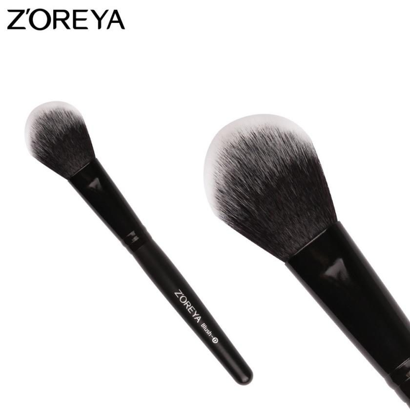 1PC Top Quality Makeup Fan Blush Face Powder Foundation Cosmetic Makeup Brush Cosmetic Tool Popular Brand Levert Dropship 2mar6 new design stamp seal shape face makeup brush foundation powder blush contour brush cosmetic facial brush cosmetic makeup tool