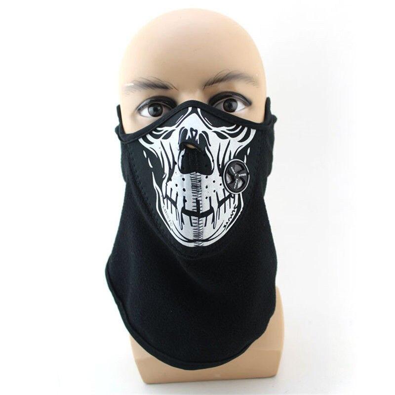 Bandana Skull Bike Motorcycle Helmet Neck Face