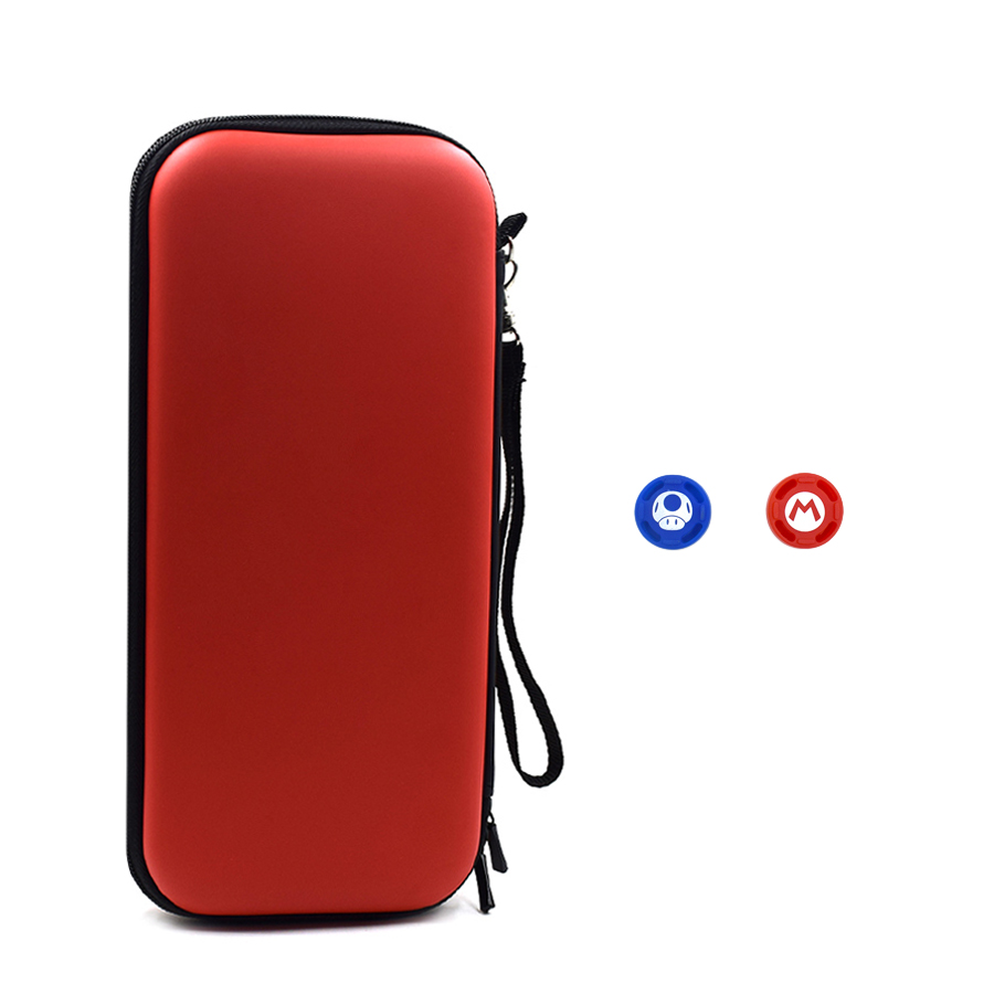 Nitend Switch Storage Case, Nintendos Nintend Switch Portable Carry  Bag with Silicone Thumbstick Grip Caps for Nintendo Switch  3