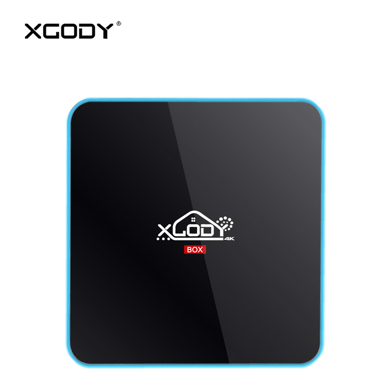 XGODY R-Box Pro Android TV Box 7.1 Nougat Kodi Media Player Amlogic S912 Octa Core 3GB DDR4 32GB eMMC 4K Box TV Receiver Netflix медиаплеер merlin 4k android media hub