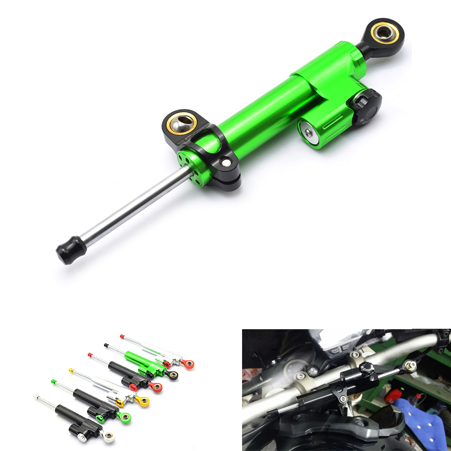 Motorcycle CNC Damper Steering StabilizerLinear Reversed Safety Control Over for Kawasaki Yamaha Suzuk Honda Ducati Harley ktm
