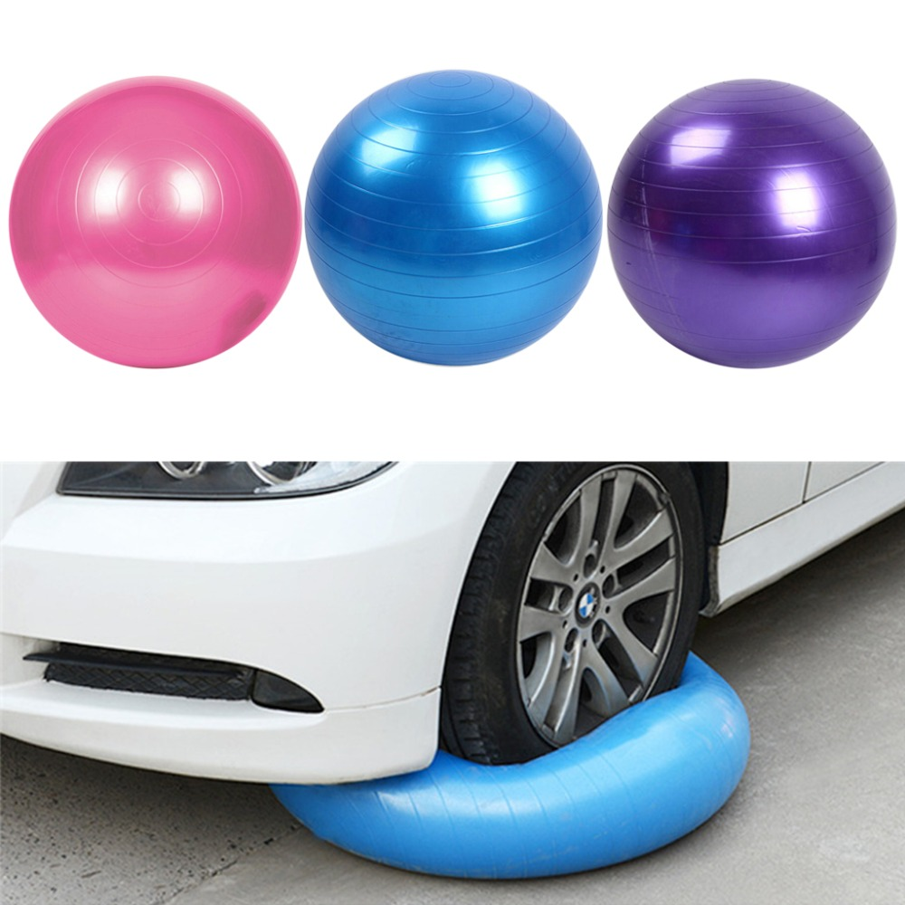 Pilates Yoga Ball 45cm Size Purple / Blue / Pink Fitness Exercise Training Balance Yoga Class GYM Ball Core Gymball PVC ...