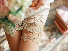 2pcs/Lot Bride Handmade Lace Garter