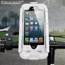 EDWO Водонепроницаемый Чехол Для Телефона Для Apple iphone 6 6 s 7 плюс 5 5S SE Велосипед Мотоциклов Руль Верхняя Передняя Кронштейн держатель